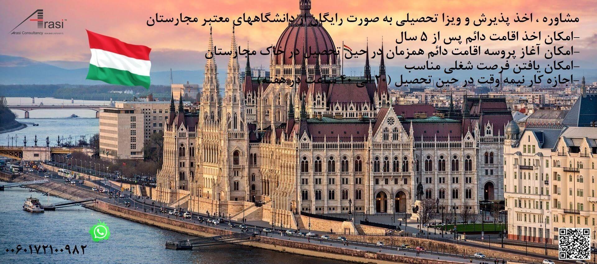 تحصیل در مجارستان (Hungary)